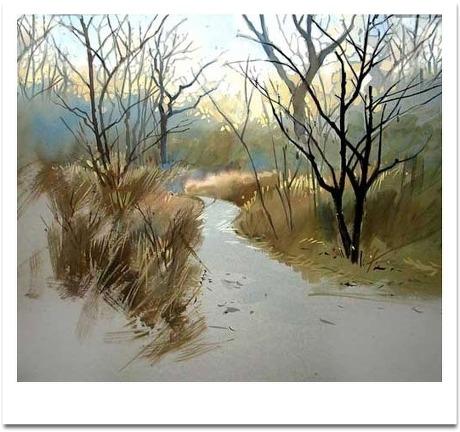 【转载】《美丽的水彩画》 - 香山红叶的日志 - 网易