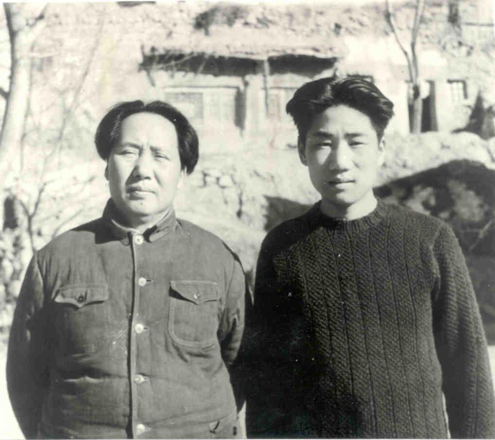 모안영(毛岸英)의 묘가 북한에 남아있게된 경위