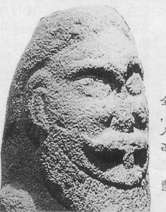 알타이산 평원의 통천석인(通天石人)