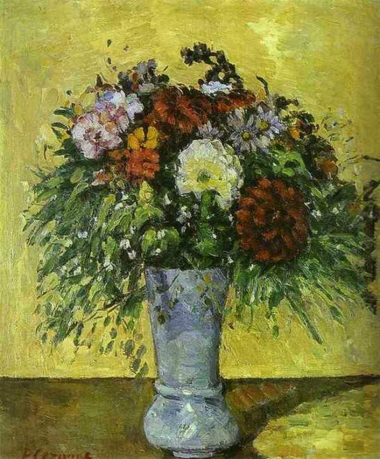 폴 세잔-꽃 그림