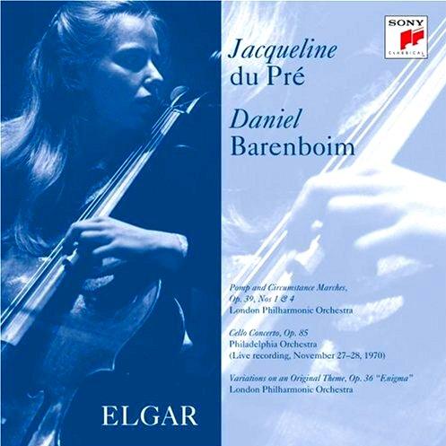 엘가/첼로 협주곡 E단조 Op.85 제4악장/자클린 뒤 프레, 첼로